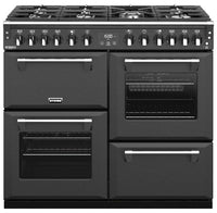 Stoves Richmond Deluxe S1000DF Dual Fuel Range Cooker - Anthracite Grey (Matte Finish)