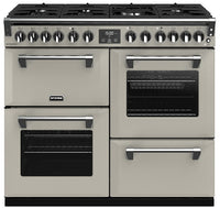 Stoves Richmond Deluxe S1000DF Dual Fuel Range Cooker - Porcini Mushroom