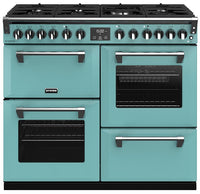 Stoves Richmond Deluxe S1000DF Dual Fuel Range Cooker - Country Blue