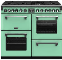 Stoves Richmond Deluxe S1000DF Dual Fuel Range Cooker - Mojito Mint