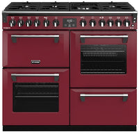 Stoves Richmond Deluxe S1000DF Dual Fuel Range Cooker - Chilli Red