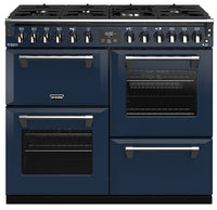 Stoves Richmond Deluxe S1000DF Dual Fuel Range Cooker - Midnight Blue