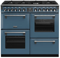 Stoves Richmond Deluxe S1000DF Dual Fuel Range Cooker - Thunder Blue