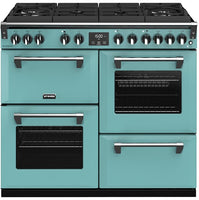 Stoves Richmond Deluxe S1000DF GTG Dual Fuel Range Cooker - Country Blue