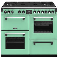 Stoves Richmond Deluxe S1000DF GTG Dual Fuel Range Cooker - Mojito Mint