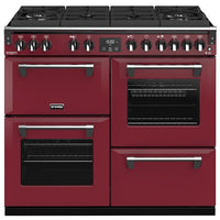 Stoves Richmond Deluxe S1000DF GTG Dual Fuel Range Cooker - Chilli Red