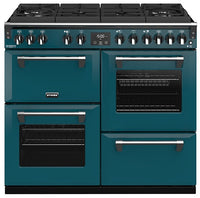 Stoves Richmond Deluxe S1000DF GTG Dual Fuel Range Cooker - Kingfisher Teal