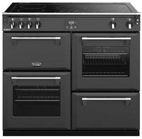Stoves Richmond Deluxe S1000Ei 100cm Electric Range Cooker with Induction Hob - Anthracite Grey