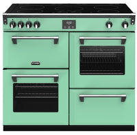 Stoves Richmond Deluxe S1000Ei 100cm Electric Range Cooker with Induction Hob - Mojito Mint