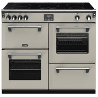 Stoves Richmond Deluxe S1000Ei 100cm Electric Range Cooker with Induction Hob - Porcini Mushroom