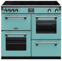 Stoves Richmond Deluxe S1000Ei 100cm Electric Range Cooker with Induction Hob - Country Blue