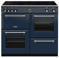 Stoves Richmond Deluxe S1000Ei 100cm Electric Range Cooker with Induction Hob - Midnight Blue