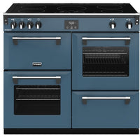 Stoves Richmond Deluxe S1000Ei 100cm Electric Range Cooker with Induction Hob - Thunder Blue