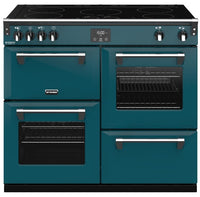Stoves Richmond Deluxe S1000Ei 100cm Electric Range Cooker with Induction Hob - Kingfisher Teal