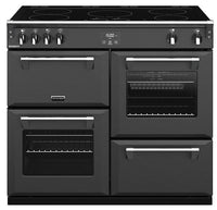 Stoves Richmond S1000Ei 100cm Electric Range Cooker with Induction Hob - Anthracite Grey