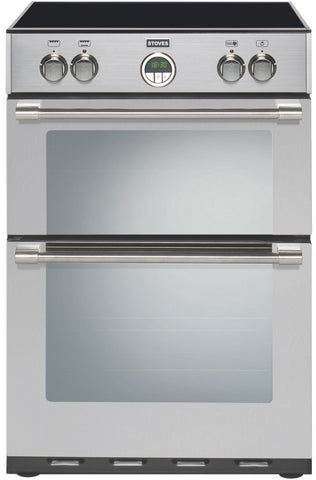Stoves Sterling 600MFTi Electric Induction Hob Double Oven Cooker Stainless Steel