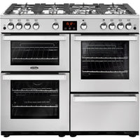Belling Cookcentre Professional 100G 100cm Gas Range Cooker - Stainless Steel