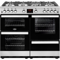 Belling Cookcentre 100G 100cm Gas Range Cooker - Stainless Steel