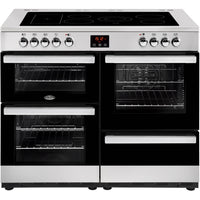 Belling Cookcentre 110E 110cm Electric Range Cooker with Ceramic Hob - Stainless Steel