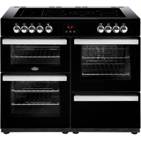 Belling Cookcentre 110E 110cm Electric Range Cooker with Ceramic Hob - Black