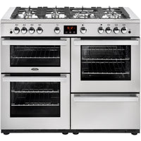 Belling Range Cooker Cookcentre 110G Professional Gas Stainless Steel