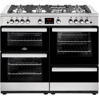 Belling Cookcentre 110G 110cm Gas Range Cooker -  Stainless Steel
