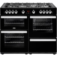 Belling Range Cooker Cookcentre 110G 110cm Gas Range Cooker - Black