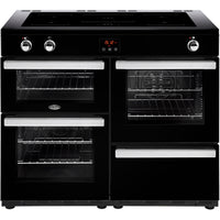 Belling Cookcentre 110Ei 110cm Electric Range Cooker with Induction Hob - Black