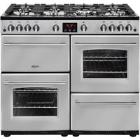 Belling Farmhouse 100G 100cm Gas Range Cooker - Silver