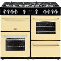 Belling Farmhouse 100G 100cm Gas Range Cooker - Cream