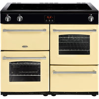 Belling Farmhouse 100Ei 100cm Electric Range Cooker with Induction Hob - Cream