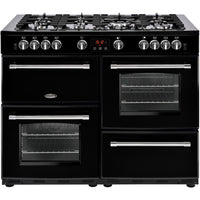 Belling Farmhouse 110G 110cm Gas Range Cooker - Black