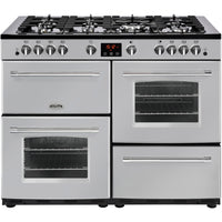 Belling Farmhouse 110G 110cm Gas Range Cooker - Silver