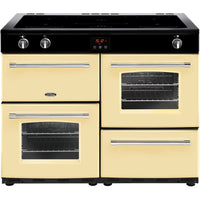 Belling Farmhouse 110Ei 110cm Electric Range Cooker with Induction Hob - Cream