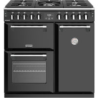 Stoves Richmond S900DF 90cm Dual Fuel Range Cooker - Black