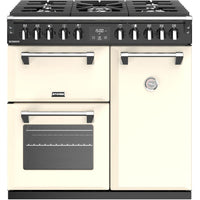 Stoves Richmond S900DF 90cm Dual Fuel Range Cooker - Classic Cream