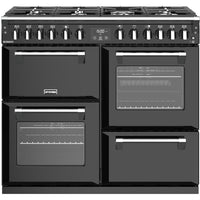 Stoves Richmond S1000DF 100cm Dual Fuel Range Cooker - Black