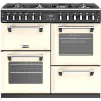 Stoves Richmond S1000DF 100cm Dual Fuel Range Cooker - Classic Cream