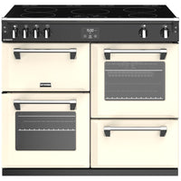 Stoves Richmond S1000Ei 100cm Electric Range Cooker with Induction Hob - Classic Cream