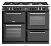 Stoves Richmond S1100DF 110cm Dual Fuel Range Cooker - Black