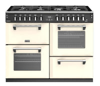 Stoves Richmond S1100DF 110cm Dual Fuel Range Cooker - Classic Cream