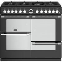 Stoves Sterling S1000DF 100cm Dual Fuel Range Cooker - Black