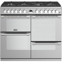 Stoves Sterling S1000DF 100cm Dual Fuel Range Cooker - Stainless Steel