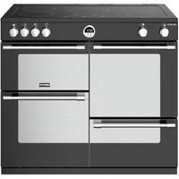 Stoves Sterling S1000Ei 100cm Electric Range Cooker with Induction Hob - Black