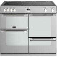 Stoves Sterling S1000Ei 100cm Electric Range Cooker with Induction Hob - Stainless Steel