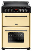 Belling Electric Cooker Farmhouse 60E Cream Ceramic Double Oven 600mm Wide