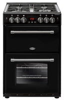 Belling Farmhouse 60G 60cm Gas Cooker with Electric Grill - Black