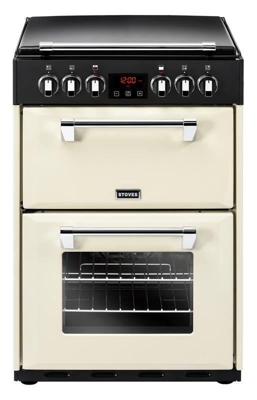 Stoves Richmond 600E 60cm Electric Cooker with Ceramic Hob - Cream