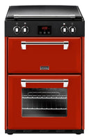 Stoves Richmond 600Ei 60cm Electric Cooker with Induction Hob - Red