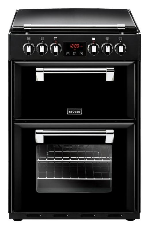 Stoves Richmond 600E 60cm Electric Cooker with Ceramic Hob - Black